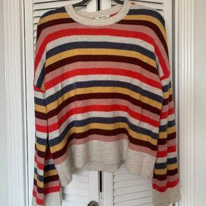 Madewell Striped Sweater - Small